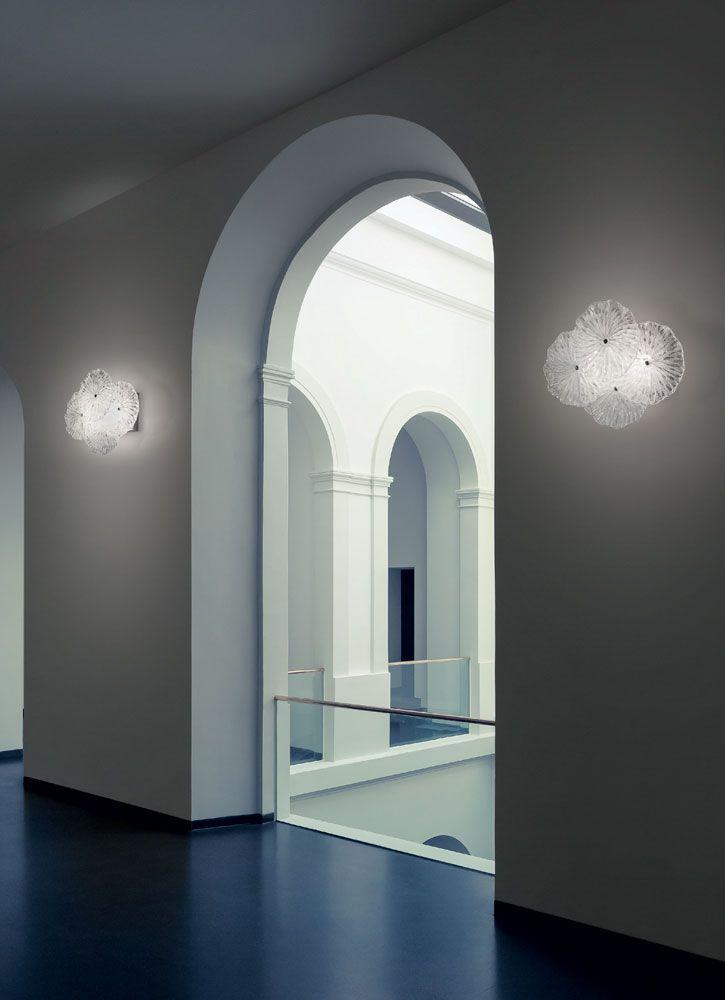 Mariposa   #glas wandlamp