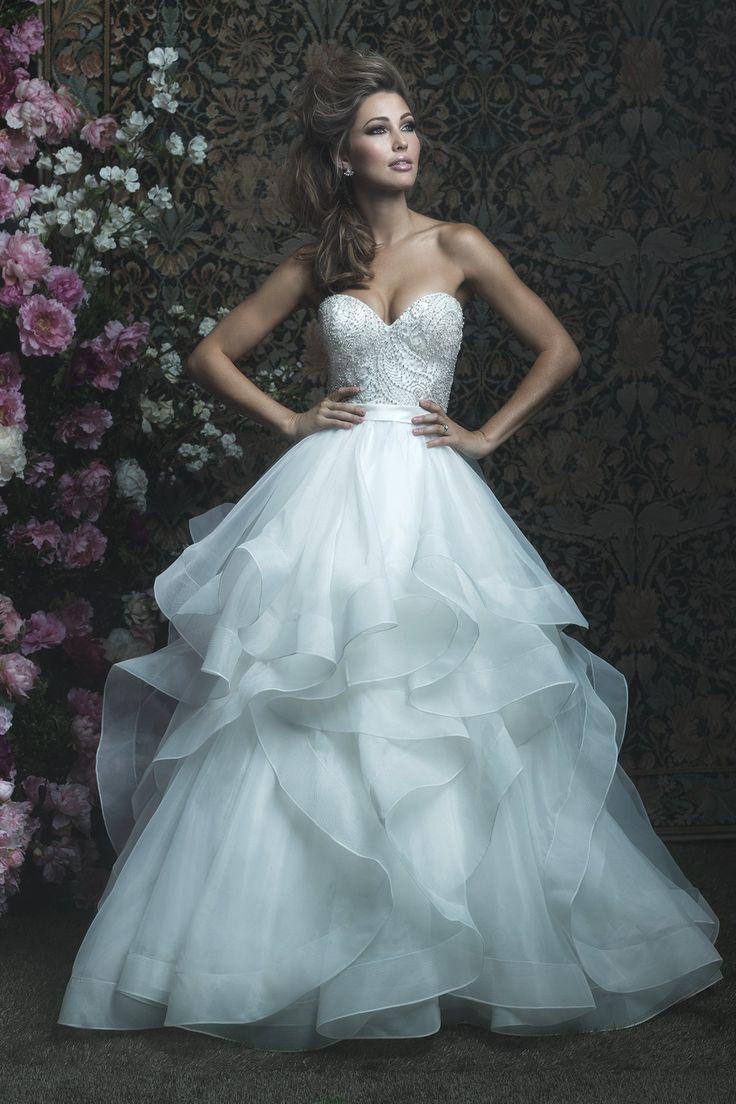 28 best Dream Ballgown Dresses images on Pinterest   Short wedding ...