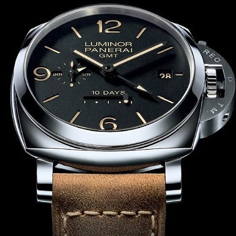 The Luminor 1950 10 Days GMT Automatic Acciaio - 44mm (PAM00533) is an extraordinary timepiece of the Florentine brand.