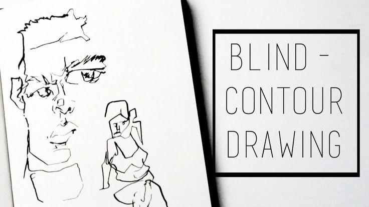 17 Mejores Ideas Sobre Dibujo Con Lineas En Pinterest: 17 Best Ideas About Blind Contour Drawing On Pinterest
