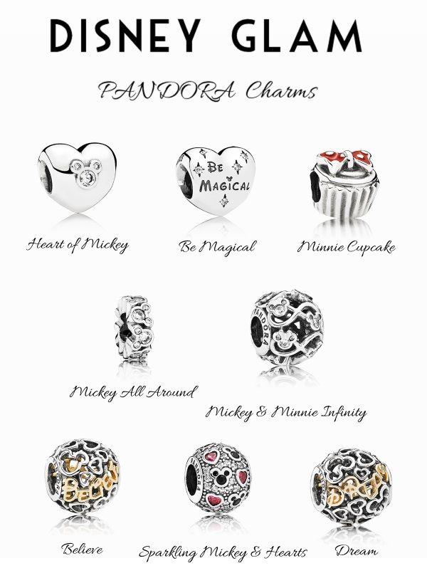 Pandora Disney Glam Charms