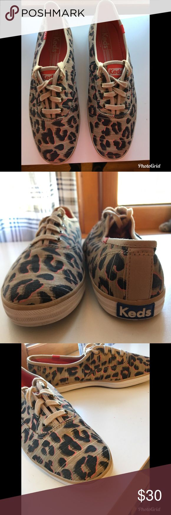 🚨SALE🚨 Cheetah Keds Only been worn a few times. Side Note: has some stains on the inside from dirt would probably come out after being washed. Keds Shoes Sneakers