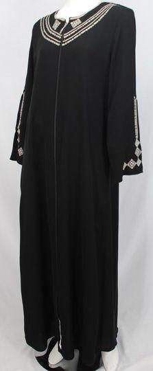 Embroidered Abaya.