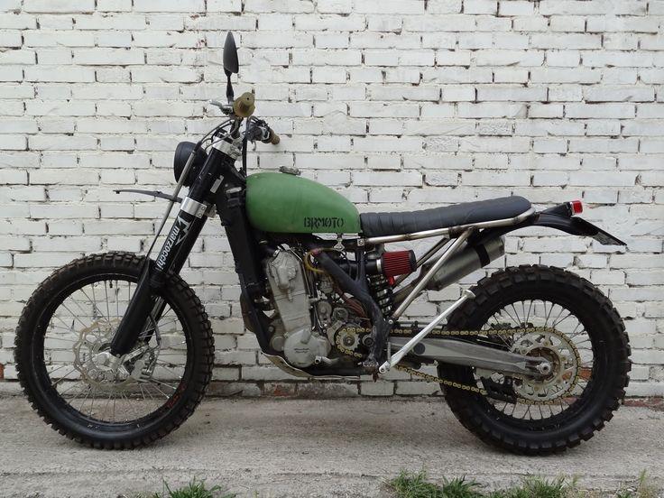BUBBLE VISOR: B.R. Moto's - BETA 450 RR