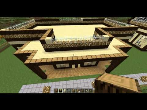 http://minecraftstream.com/minecraft-gameplay/minecraft-lab-how-to-build-a-minecraft-palace-house-part-1/ - Minecraft Lab - How To Build A Minecraft Palace House [Part 1]  The much anticipated video tutorial on how to build an epic Minecraft palace / mansion out of pine, sandstone, glass, glowstone, wooden plank and a sprinkle of a few other things. Download The Base Dimensions Blueprint, world and MCEdit schematics: http://www.minecraftlab.com TooManyItems...