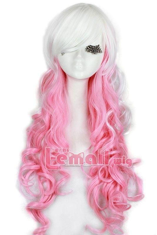 65cm Halloween Gothic Classical Harajuku Mix White Pink