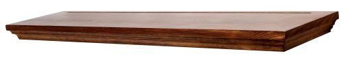 Spectrum WRP836 Wallscapes Woodridge 8 by 36 by 1-3/4-Inch, Pecan, Shelf Kit by Spectrum. $32.99. Suits all your shelving needs. Create a wall design with logic, function and elegance. Mounting bracket and installation instructions included. 1-3/4-inch thick wood veneer. Substantial, classic and versatile. From the Manufacturer                Woodridge collection offers substantial 1-3/4 inch thick wood veneer shelving with surprising versatility.  Create a wall design with logic...