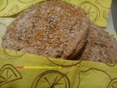 Μάχη στην κουζίνα: Ψωμί Ολικής Με Καρύδια