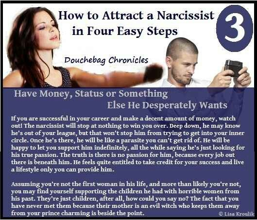 How to attract a narcissist A Help for narcissistic ...