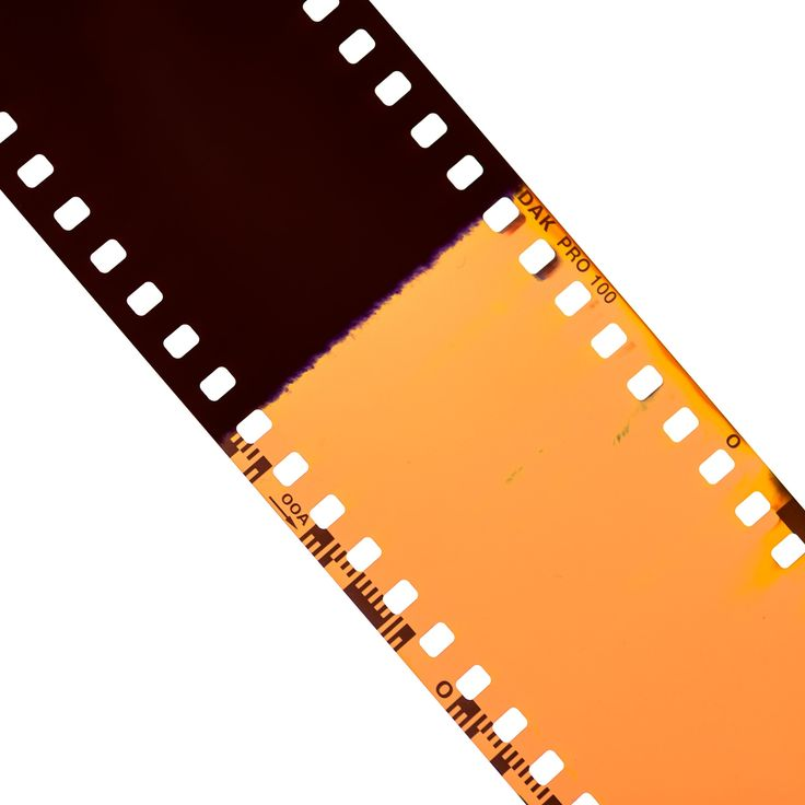 Film Strip - Up close to the film