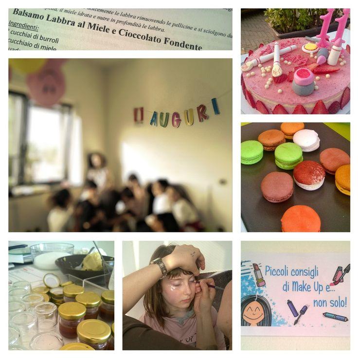 """Festa di compleanno """"Make UP naturale"""" 11 anni www.chantillyweb.eu"""