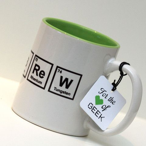 86 best mugs images on pinterest coffee cups mugs and coffee mugs periodic table brew mug geek chemistry science http urtaz Choice Image