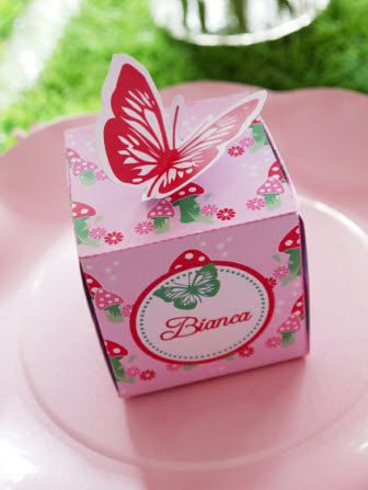 Printable Pink Pixie Fairy Party Decorations!! #Pink #Favors #PartyIdeas #Butterfly
