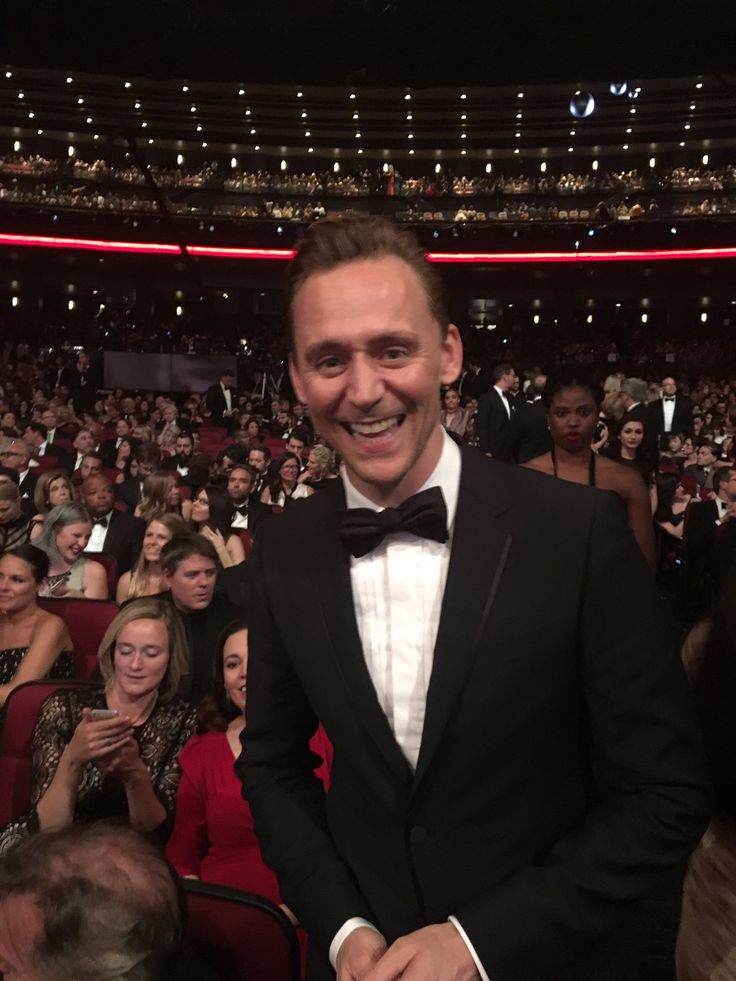 Tom at the Emmys 2016.