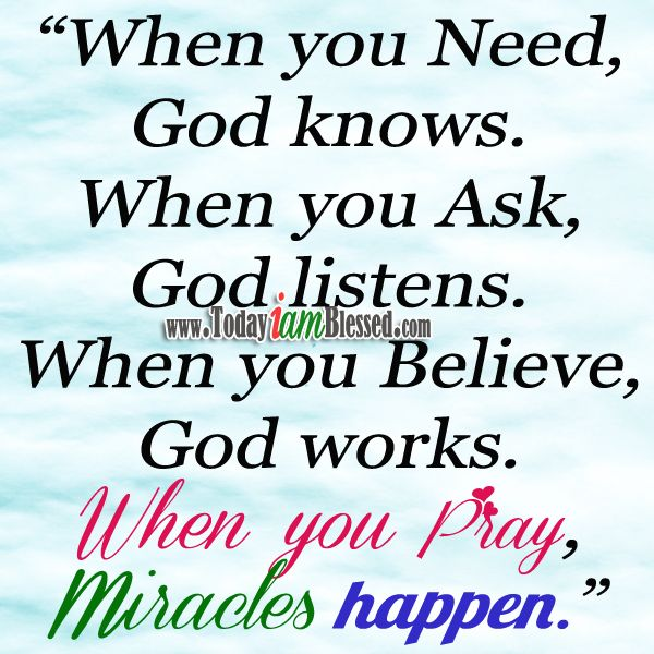 Gods Miracles Quotes: 24 Best Faith Quotes Images On Pinterest