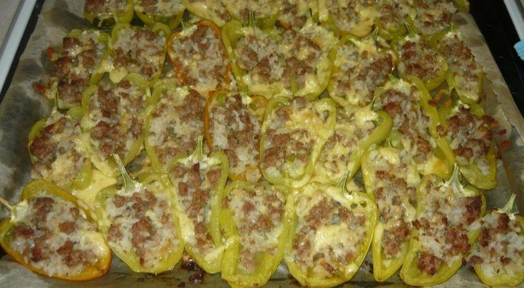 Фаршированные перцы, запеченные в духовке | WOOMEDIA.RU