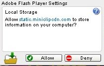 Flash Player requesting more Storage for 8 Ball Pool – Miniclip Support