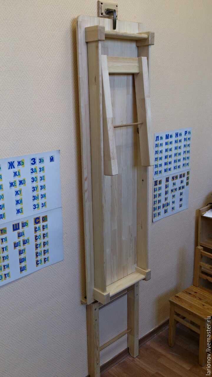Купить стол раскладной - желтый, мебель из дерева, мебель для детских, стол, стол деревянный