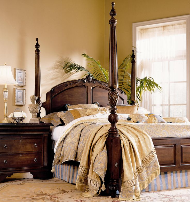 Ashley Furniture In Ct: Keswick California King-Size Poster Bed By Kincaid