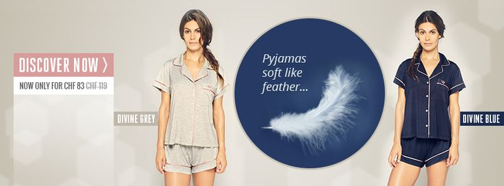 Comfortable, cosy but still sexy pyjamas - Pyjamas soft like feather... Discover now → http://www.virtus-fashion.com/en/  Bequemer, gemütlicher Pyjamas, die dennoch sexy sind - Pyjamas so weich wie Federn... Jetzt entdecken → http://www.virtus-fashion.com/