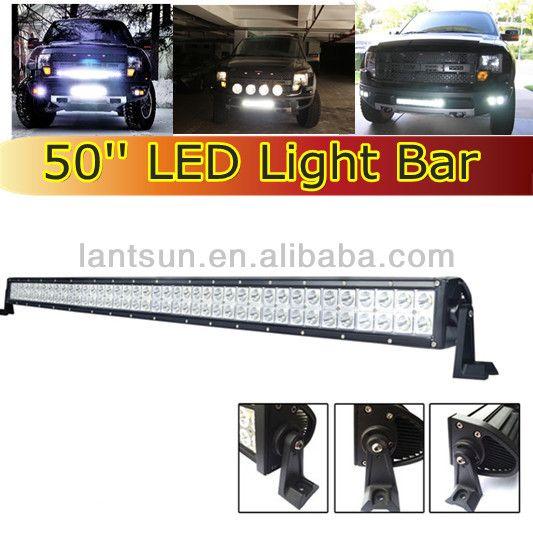 288W 50inch led light bar, off road light bar, led light bars for truck $120~$170