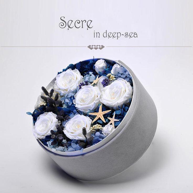 Box series-preserved fresh flower; fresh flora preservation; fresh flower—S&P FLOWER