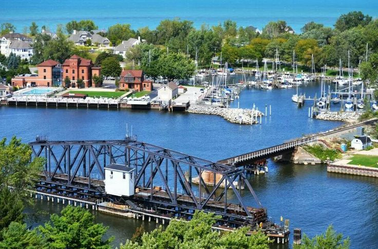 My hometown St. Joseph Michigan by Josh Nowicki