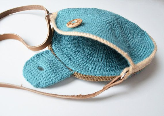 Round Bag crochet pattern  overlay and tapestry crochet