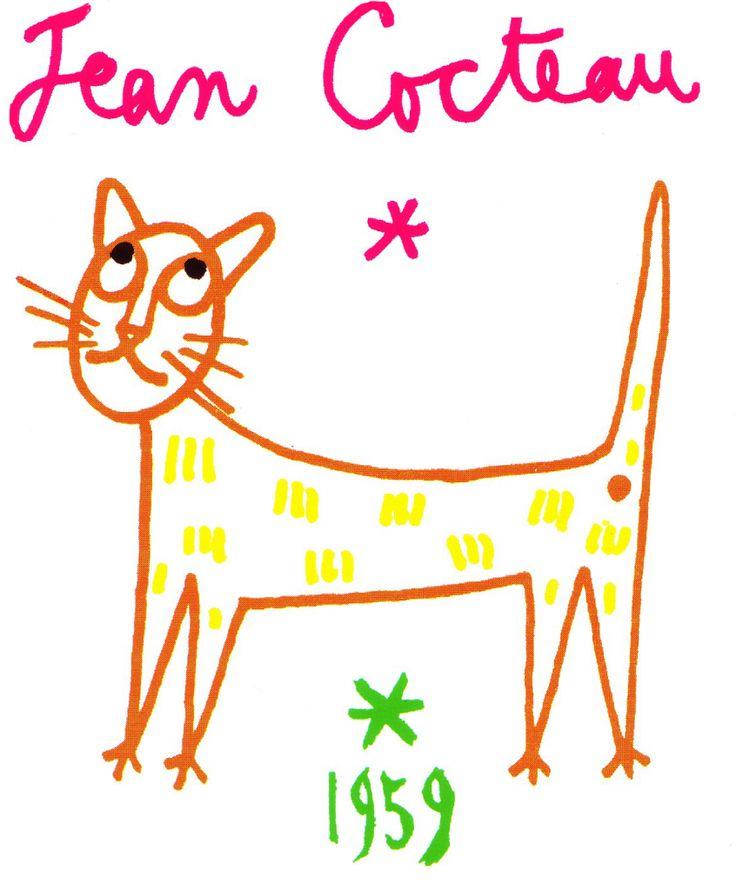 Le chat de Cocteau, notre emblème.