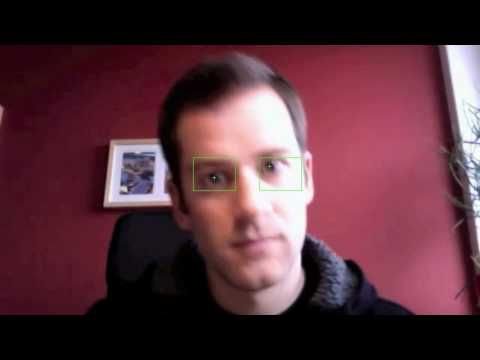 Accurate eye center localisation for low-cost eye tracking - YouTube