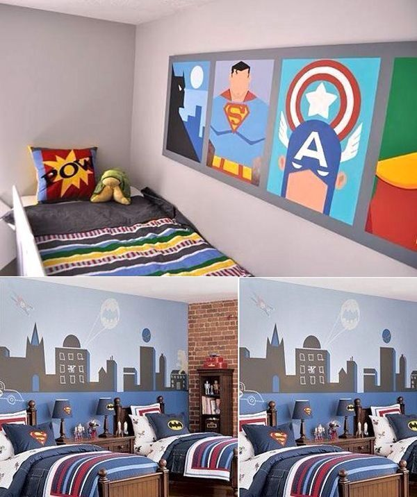 Toddler Boys Superhero Bedroom Ideas 11 best superhero bedrooms images on pinterest | children