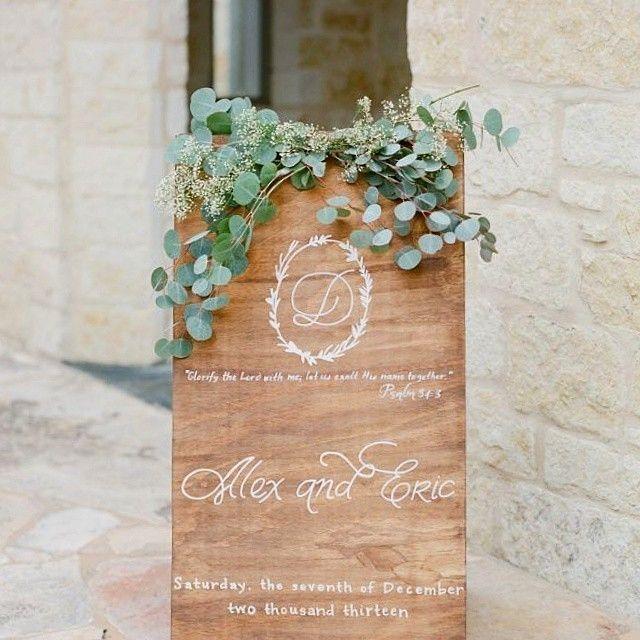 インスタで見つけた!海外花嫁の可愛いウェルカムボードまとめ♡にて紹介している画像