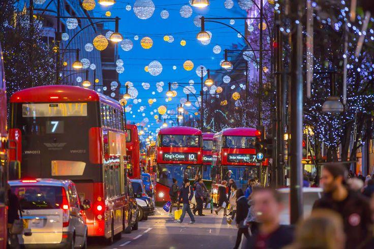 Londoni karácsonyi fények