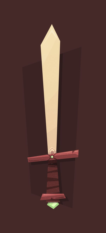 How To Create A Cartoonlike Elemental Sword In Adobe Illustrator   Tutorial From Tuts+