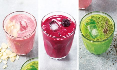 Summer Smoothies #Strawberry #BerryBurst #SpinachandAvocado