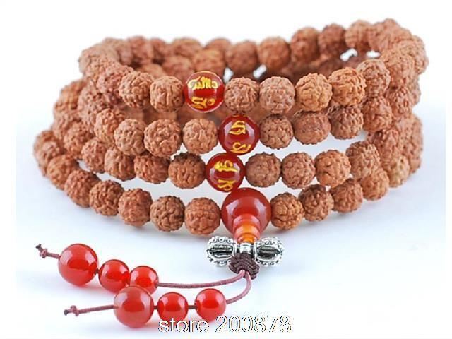 BRO534 Tibetan 108 beads Kingkong bodhi seeds prayer beads Mala 8mm Indian Bodhi rosary man bracelets Custom-made www.bernysjewels.com #bernysjewels #jewels #jewelry #nice #bags