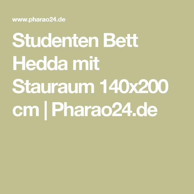 Studenten Bett Hedda mit Stauraum 140x200 cm | Pharao24.de