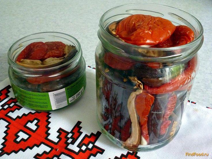 Вяленые баклажаны и помидоры на зиму - фото 7 шага