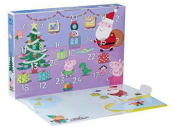 Peppa Pig Advent Calendar // Calendar Countdown #blogger # ...