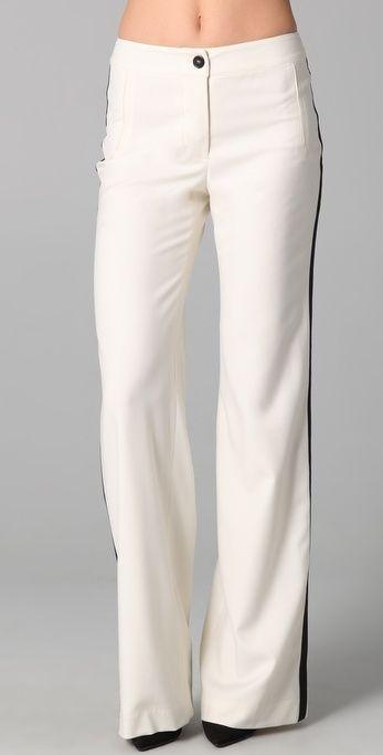 Adam Wide Leg Tuxedo Pants thestylecure.com