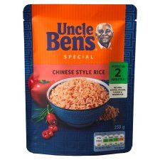 Uncle Bens Express Rice Chinese Style 250G