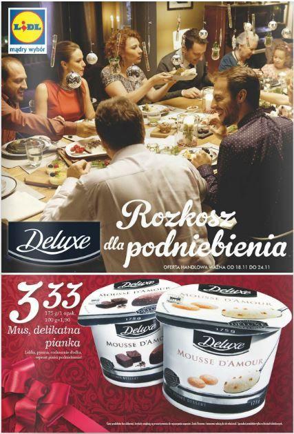 Oj, Lidl dba o nasze podniebienia... Ani chwili nudy :). http://www.promocyjni.pl/gazetki/11966-rozkosz-dla-podniebienia-gazetka-promocyjna