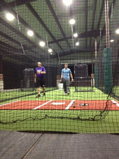 Mary Hardin Batting Cages with Kodiak Sports Turf and Nets #battingcages #baseball #artificialturf #netting #homerun