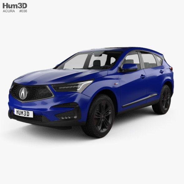2019 Acura Crossover Release Date And Specs Acura Crossover Acura Concept Acura Rdx