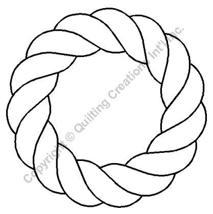 """Quilting Stencils > Nautical - Item: 6"""" on QuiltingCreations.com"""