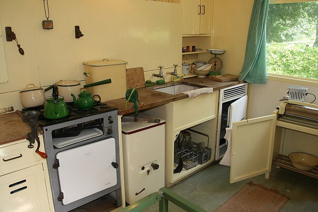 The Prefab kitchen, Avoncroft Museum, Worcestershire (avoncroft.org.uk)