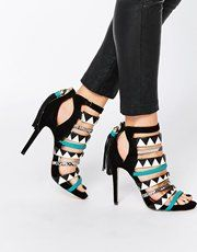 Miss KG | Miss KG Forest Multi Coloured Strappy Sandals at ASOS