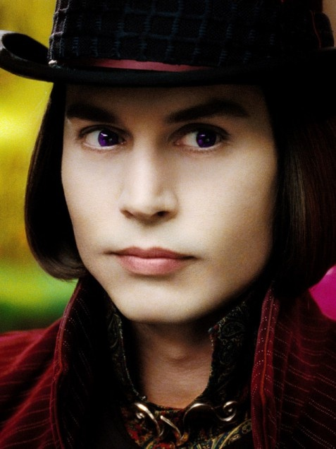 Charlie and the Chocolate Factory Depp completely transforms (yet again) to give his take on the eccentric Willy Wonka in the 2005 remake of Charlie and the Chocolate Factory. We've never seen his hair look so clean and well-groomed!