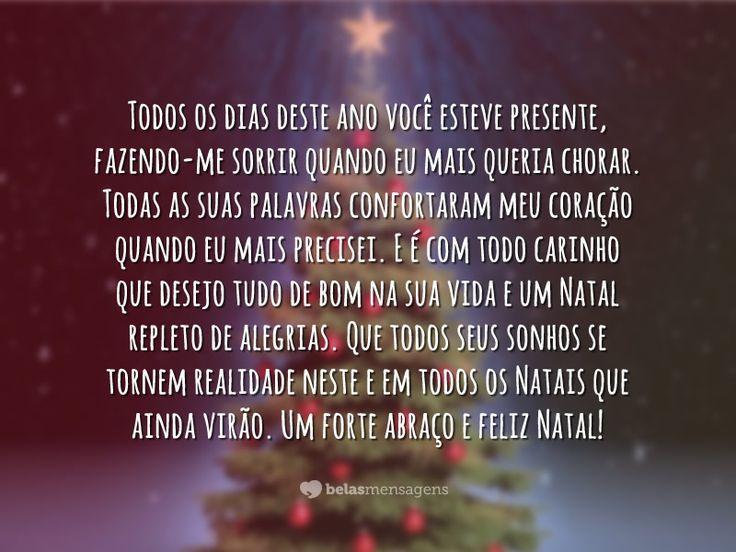 Feliz Natal amigo - Belas Mensagens