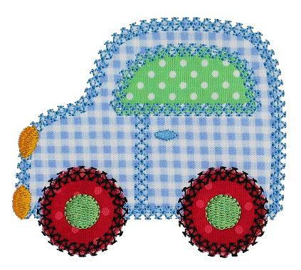 Patchwork Car Applique